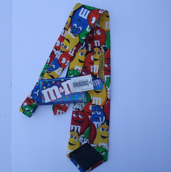 officially licensed m&m's Other - M&M Novelty Large Tie